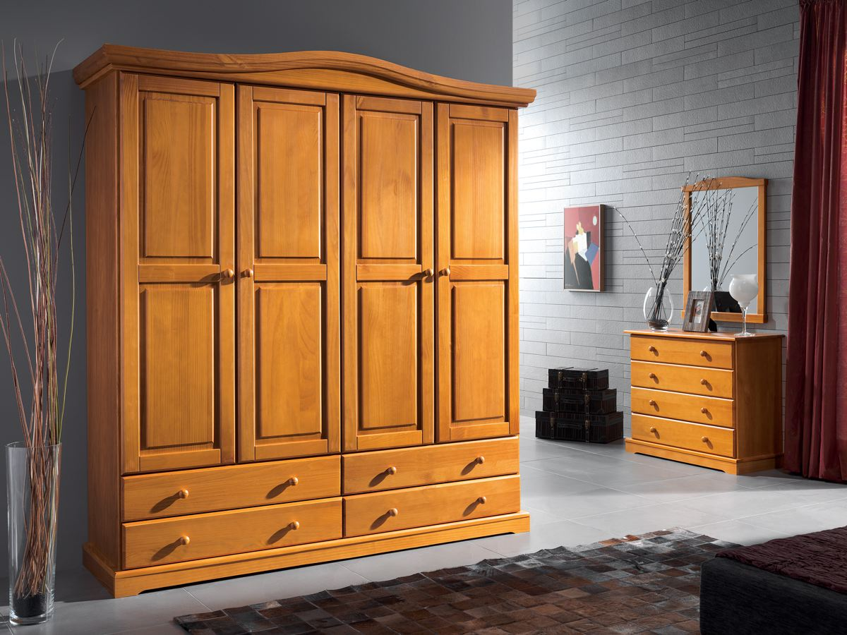 Provenzal muebles en madera for Colores muebles madera