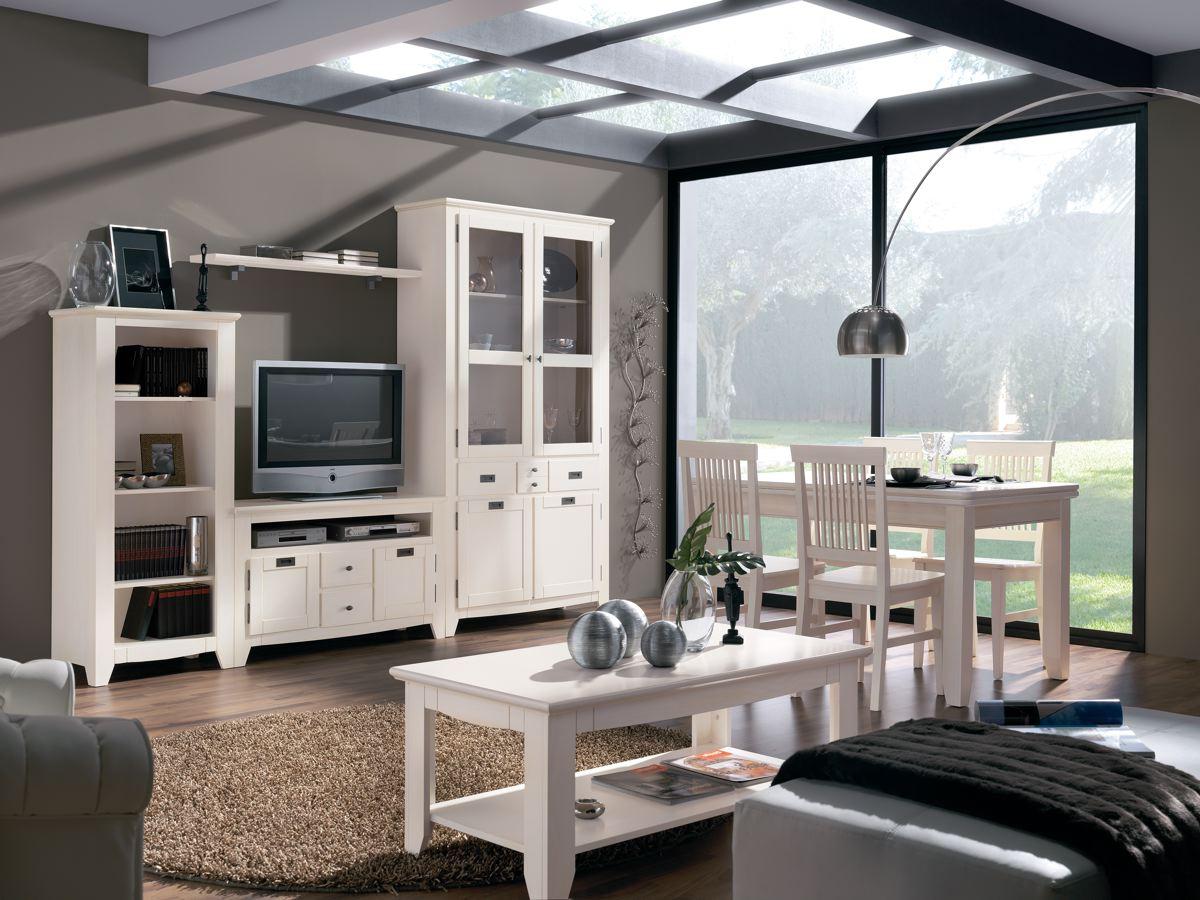 Comedor muebles en madera - Muebles salon blanco y madera ...